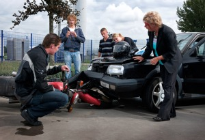 Gender and car crash type