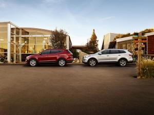 2015 Hyundai Santa Fe and Santa Fe Sport